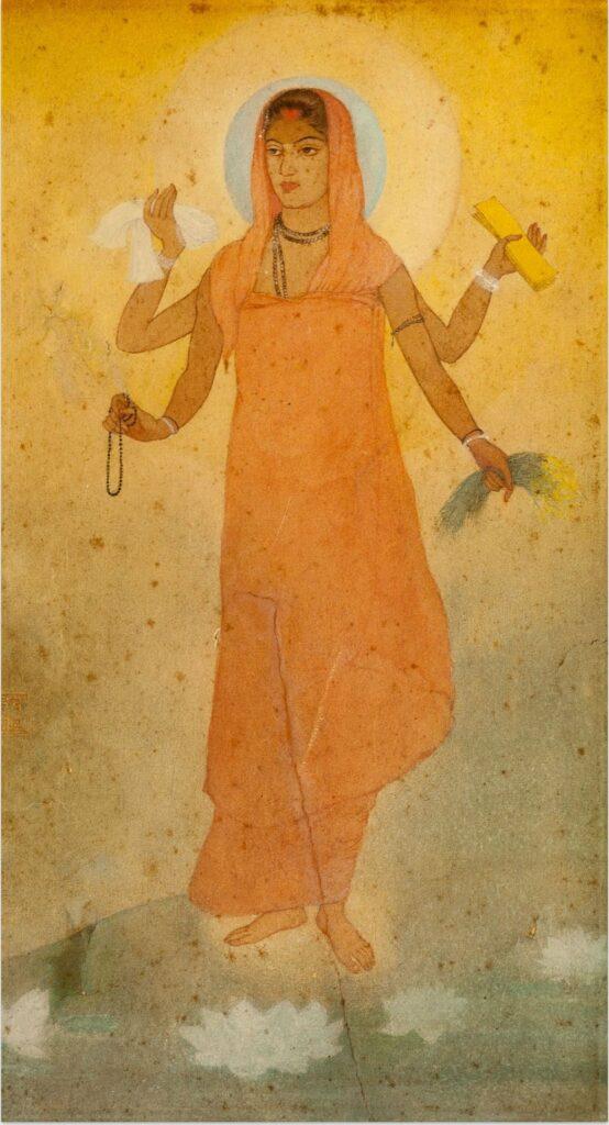 Lukisan India #1: Abanindranath Tagore dan Aliran Seni Bengali 6 lukisan india
