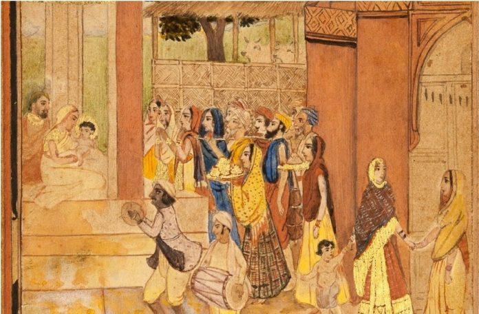 Lukisan India #1: Abanindranath Tagore dan Aliran Seni Bengali 23 lukisan india