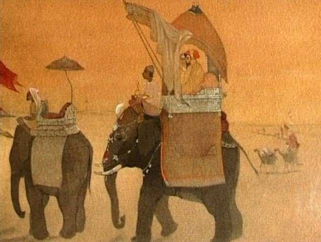 Lukisan India #1: Abanindranath Tagore dan Aliran Seni Bengali 16 lukisan india