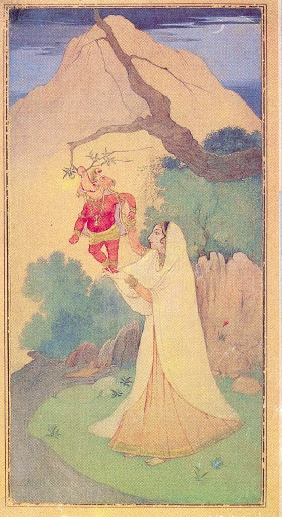 Lukisan India #1: Abanindranath Tagore dan Aliran Seni Bengali 8 lukisan india