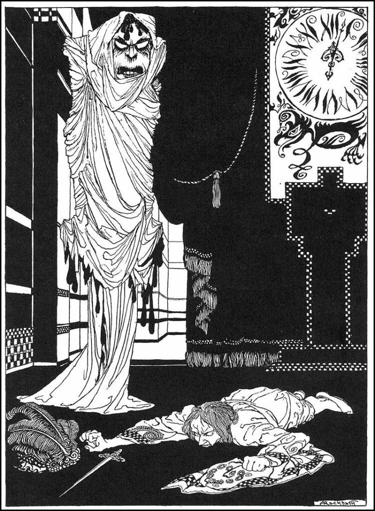 Danse Macabre (Bagian 3): Satir Kematian Edgar Allan Poe 34 Satir Kematian Edgar Allan Poe