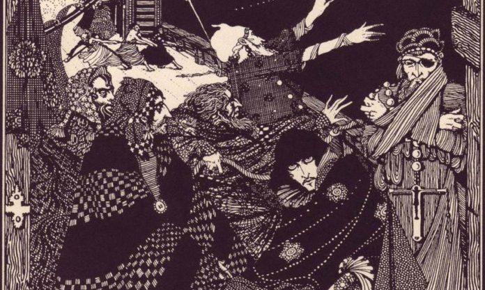 Danse Macabre (Bagian 3): Satir Kematian Edgar Allan Poe 7 Satir Kematian Edgar Allan Poe