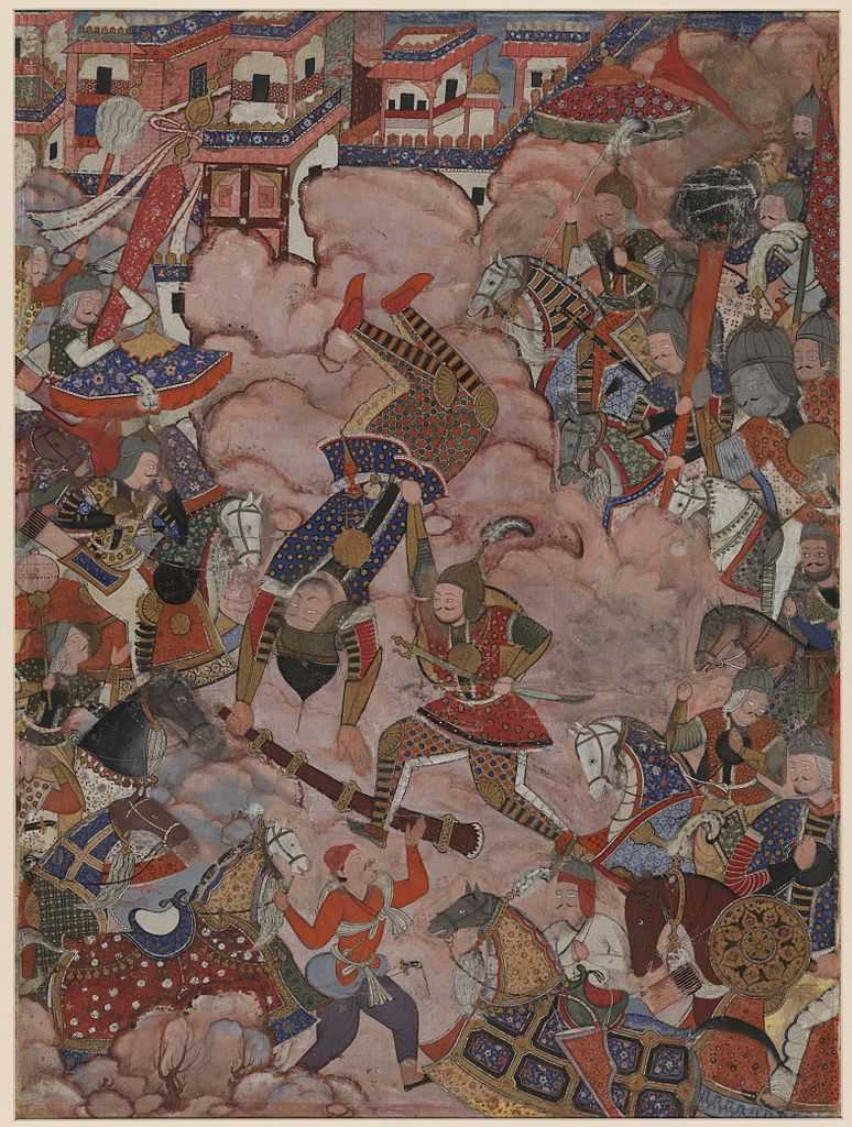 Lukisan India #1: Abanindranath Tagore dan Aliran Seni Bengali 2 lukisan india