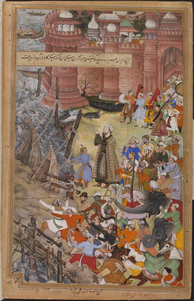 Pengaruh Persia dalam Aliran Seni Mughal 3 Pengaruh Persia
