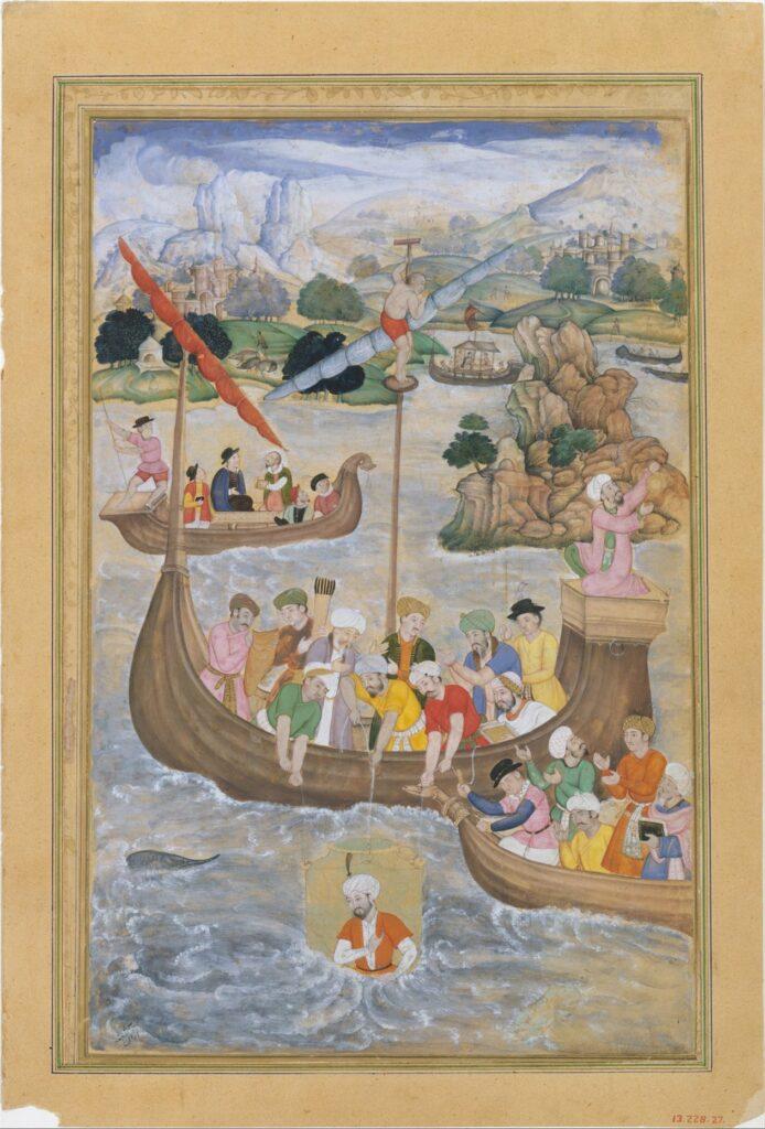 Pengaruh Persia dalam Aliran Seni Mughal 4 Pengaruh Persia