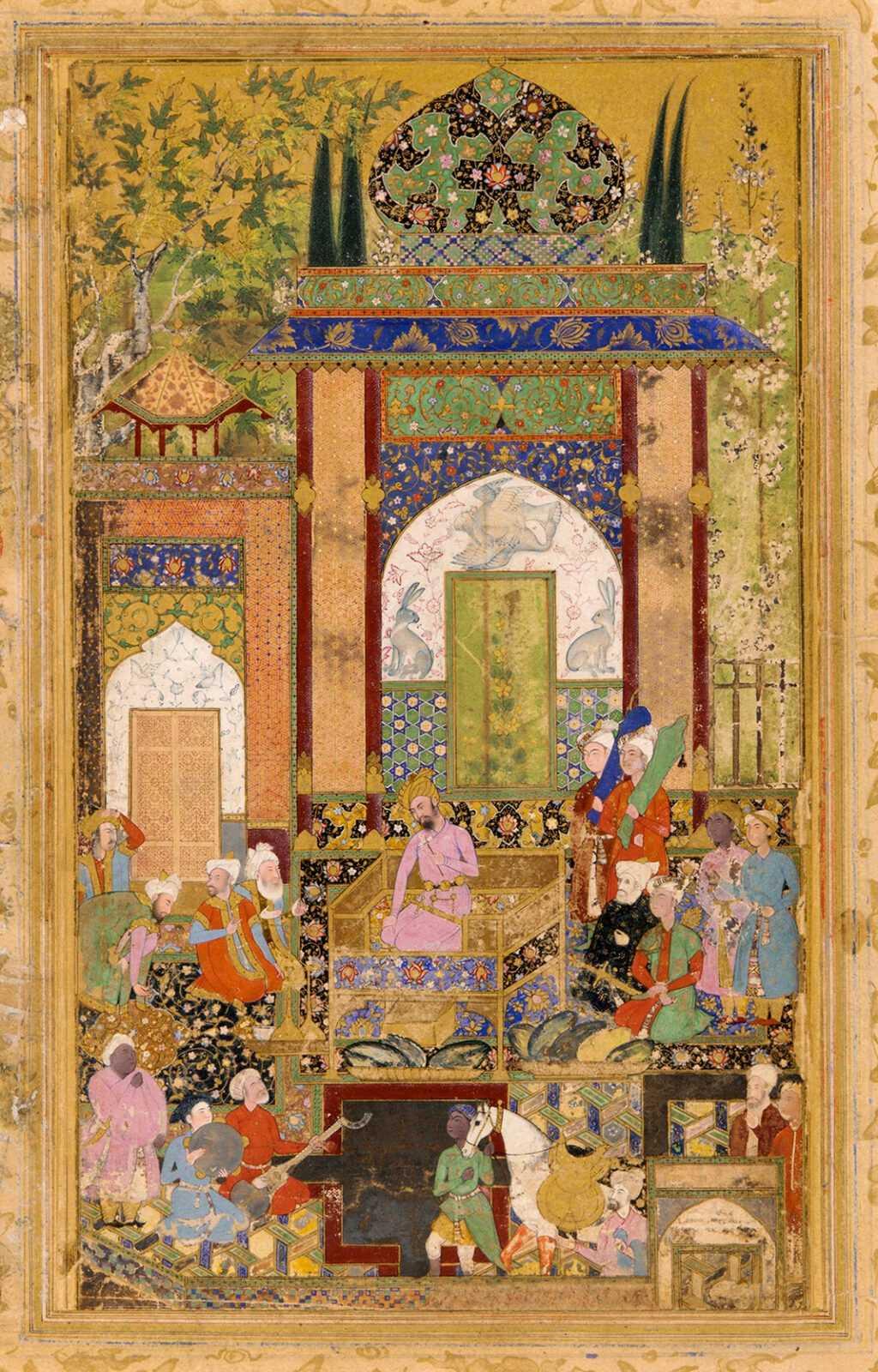 Pengaruh Persia dalam Aliran Seni Mughal 1 Pengaruh Persia