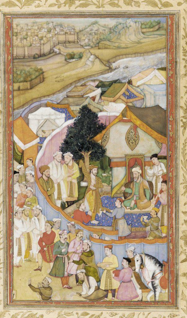 Pengaruh Persia dalam Aliran Seni Mughal 7 Pengaruh Persia
