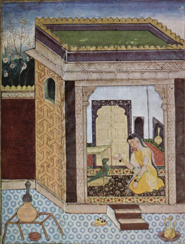 Pengaruh Persia dalam Aliran Seni Mughal 9 Pengaruh Persia