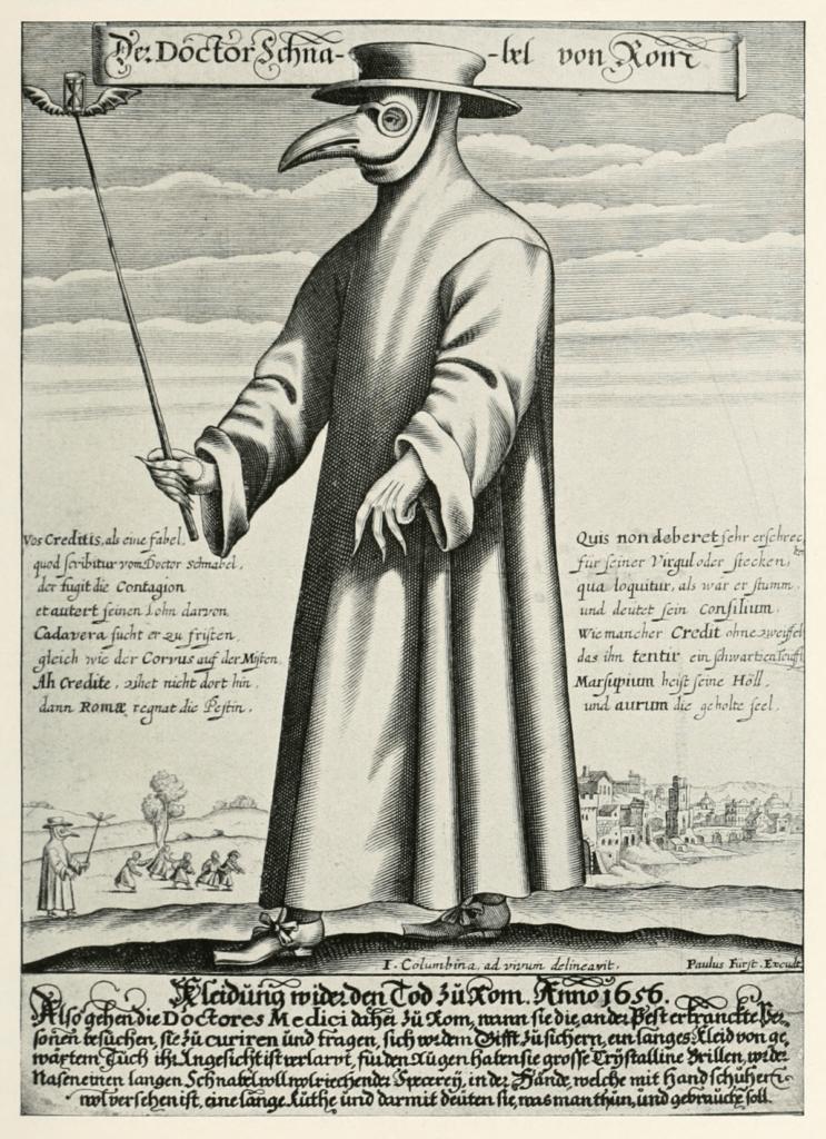 Dokter di Masa Wabah (Catatan dari Pavia) 25 dokter di masa wabah