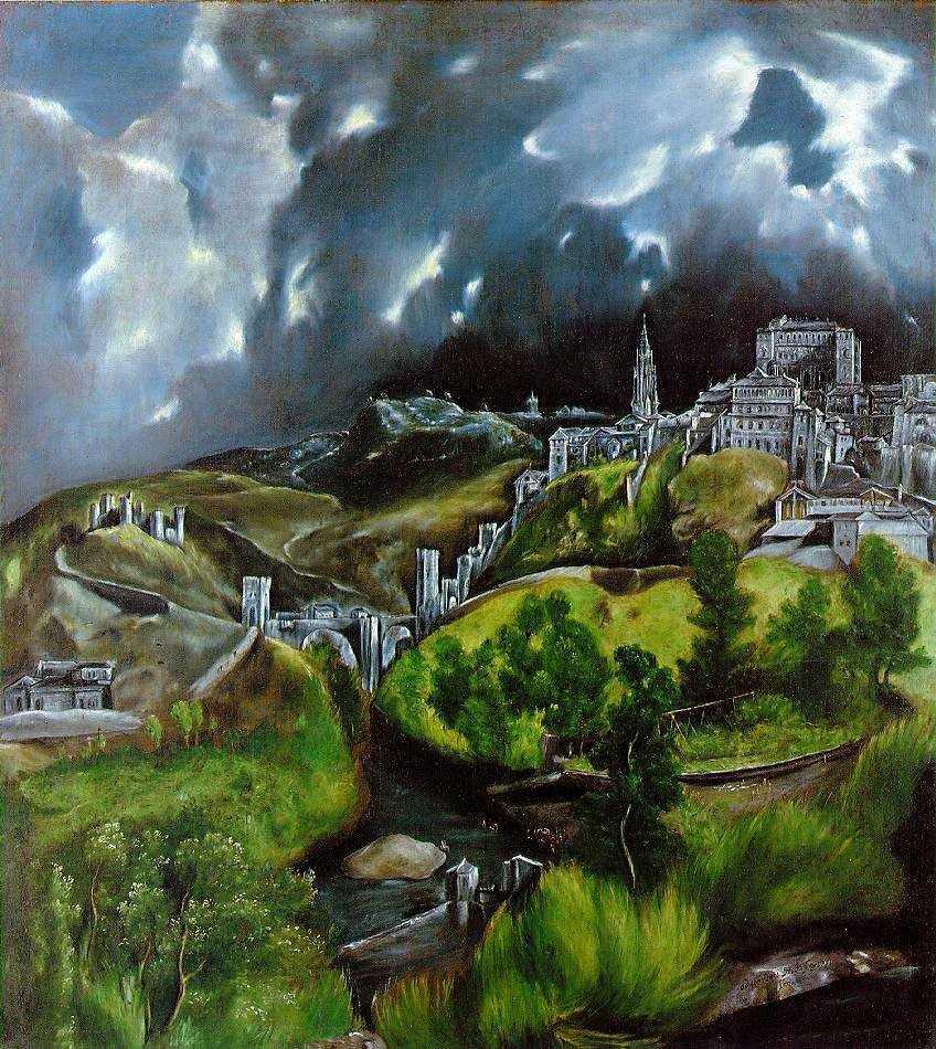 Lukisan Apokaliptik El Greco 28 Apokaliptik