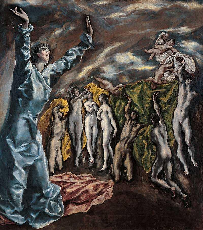 Lukisan Apokaliptik El Greco 26 Apokaliptik