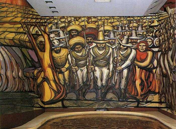 Los Tres Grandes: Tiga Pilar Gerakan Mural Meksiko 22 Gerakan Mural Meksiko