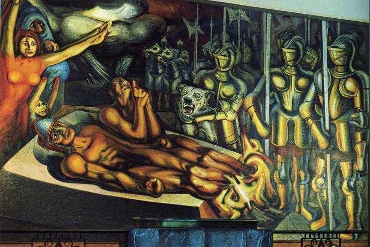 Los Tres Grandes: Tiga Pilar Gerakan Mural Meksiko 24 Gerakan Mural Meksiko