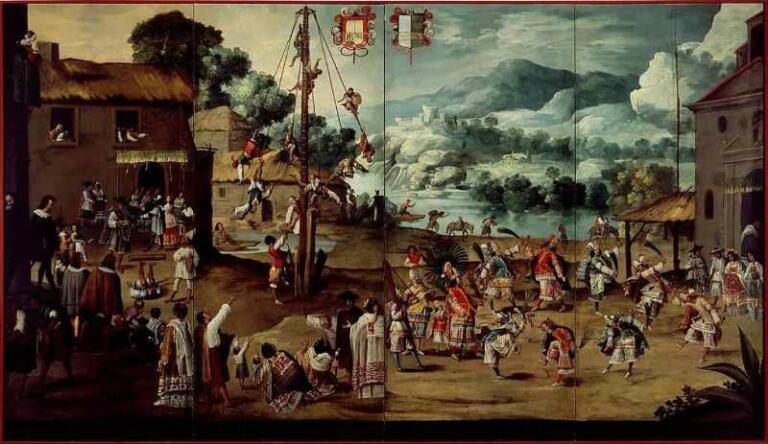 Lukisan Kolonial Meksiko: Gothik dan Baroq di Tenochtitlan