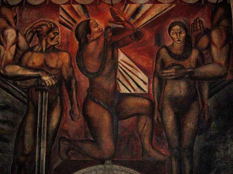 Los Tres Grandes: Tiga Pilar Gerakan Mural Meksiko 19 Gerakan Mural Meksiko