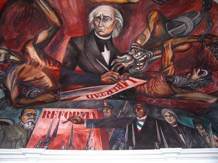 Los Tres Grandes: Tiga Pilar Gerakan Mural Meksiko 20 Gerakan Mural Meksiko