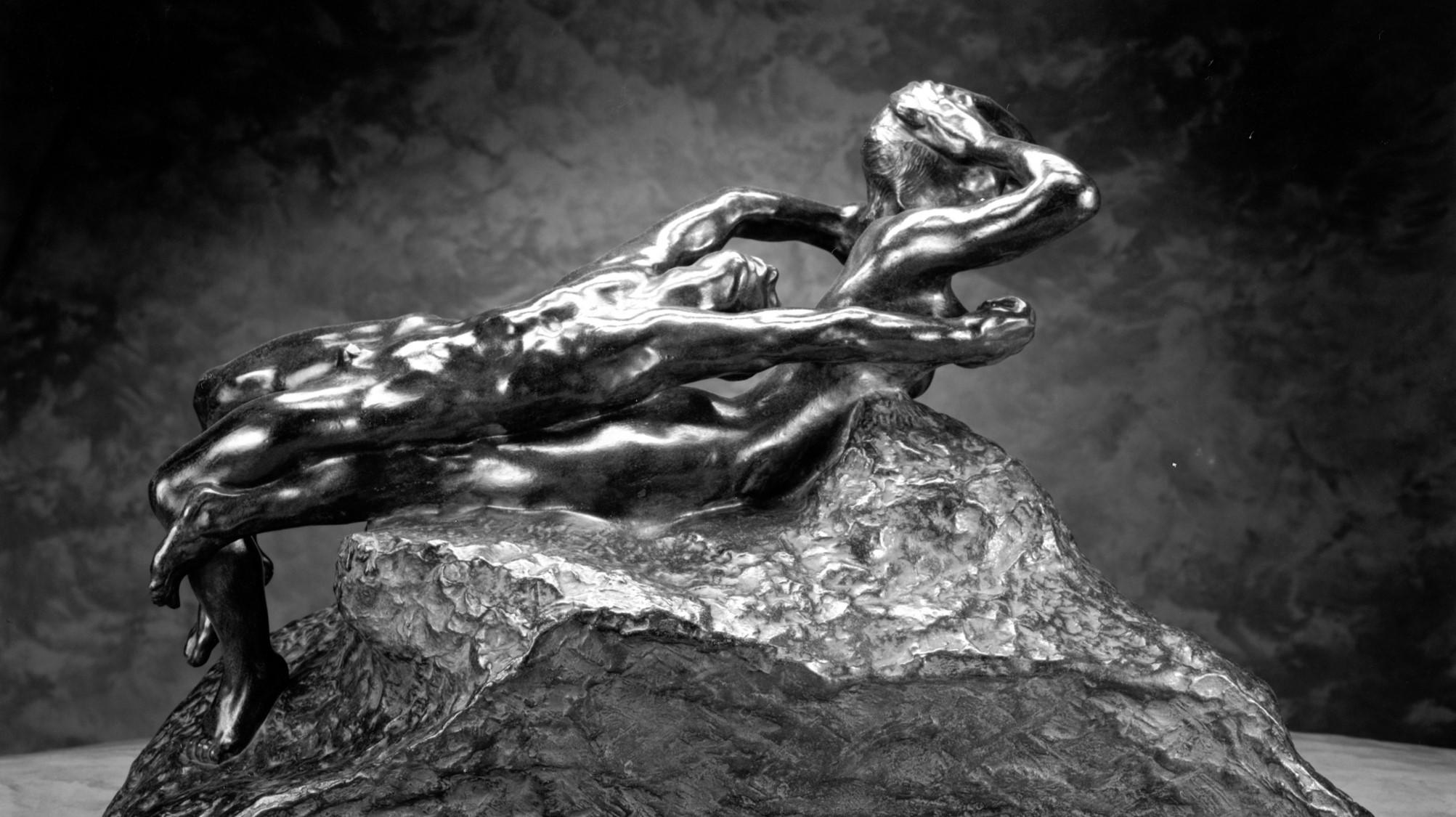 Fugitive Love (Rodin, 1886)